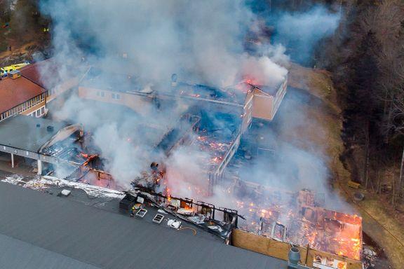 200 elever uten klasserom etter brann