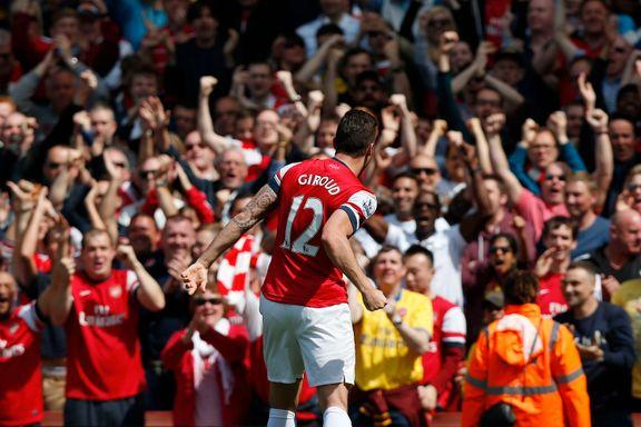 Giroud matchvinner for Arsenal