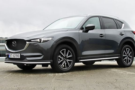 Prøvekjøring av Mazda CX-5: Tøffere for Mazdas bestselger