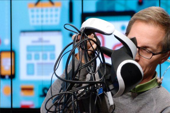 Playstation VR er ikke akkurat trådløst: – Steike, tenk å sette opp alt dette på julekvelden!