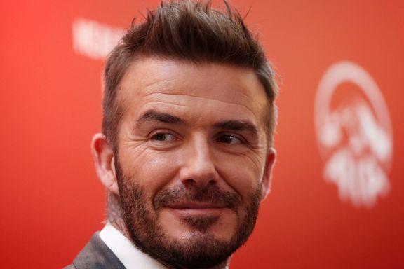 Beckham får prestisjetung utmerkelse