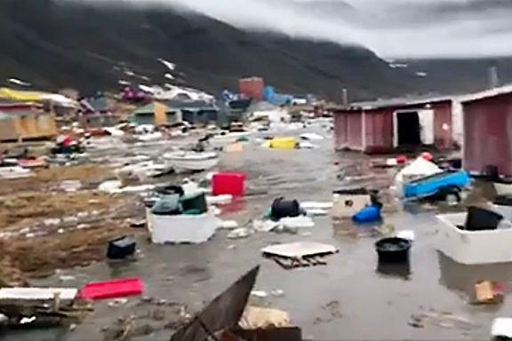 Frykt for nye skred på Grønland – beboere evakueres
