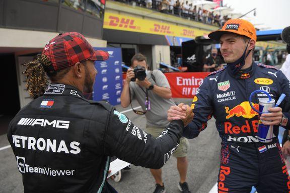 Hamilton og Verstappen uenige om forklaring: – De kan ikke skylde på oss