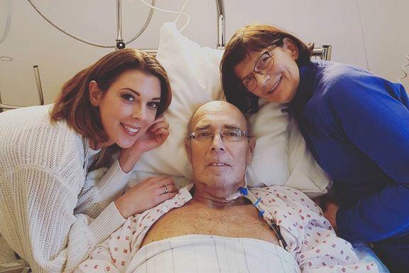 Hennes kreftsyke far fikk behandling i Tyskland: «Vi var desperate og hadde et ufattelig sterkt håp»