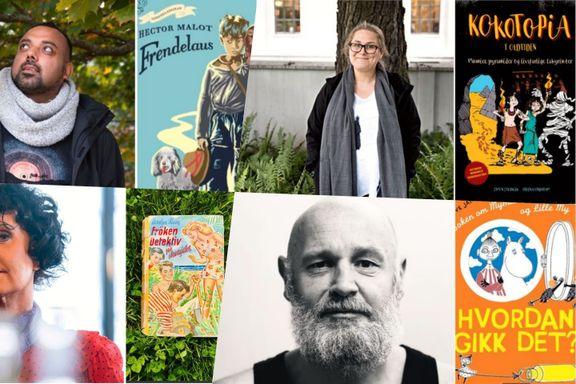 Trenger du litt drahjelp for å få ungene til å lese i sommer? Ti kjente forfattere anbefaler barnebøker.