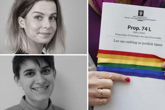 Transpersoner ble utpekt som uverdige foreldre og måtte steriliseres. Norge må ta ansvar.