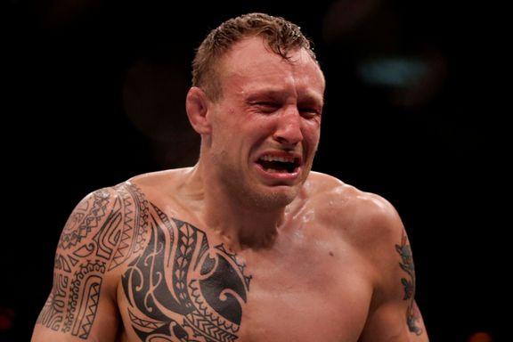 40 sekunder senere vant han kampen som sendte ham mot verdenstoppen
