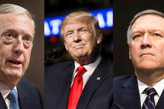 Trumps nye toppfolk er helt uenige med Trump på flere punkter