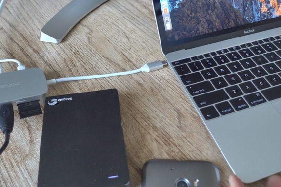 Alt du kan koble til Macen går ikke i ny USB-inngang: – Dette blir et kaos av adapter-rot
