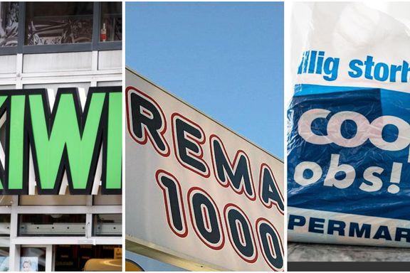 Razzia hos tre dagligvarekjeder – mistanke om ulovlig prissamarbeid
