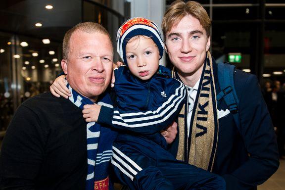 Jonas (5) møtte endelig heltene sine fra Viking