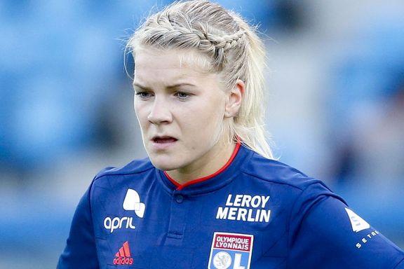 Hegerberg sløste med sjansene da Lyon slo Avaldsnes