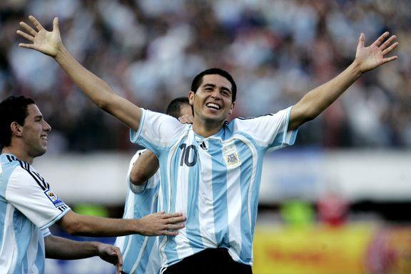 Argentinsk fotballegende legger opp