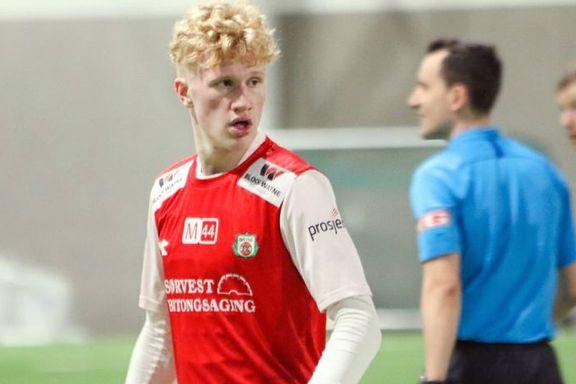 Dette stortalentet er Erling Haalands fetter. Nå kan han bli Molde-spiller.