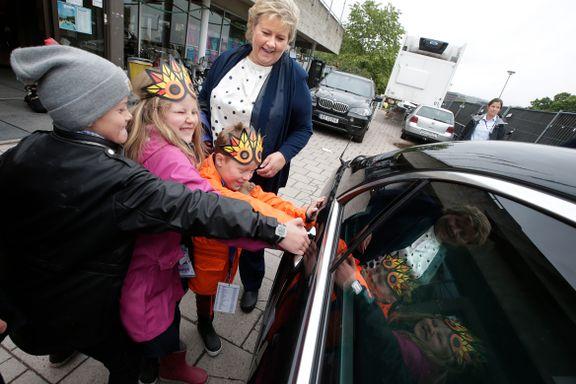 Erna Solberg kjøper bil til 6 millioner kroner – men vil ikke fortelle hvilken