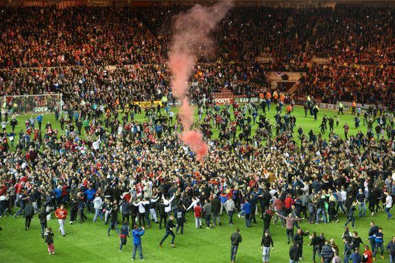 Fansen stormet banen da Middlesbrough sikret finaleplass
