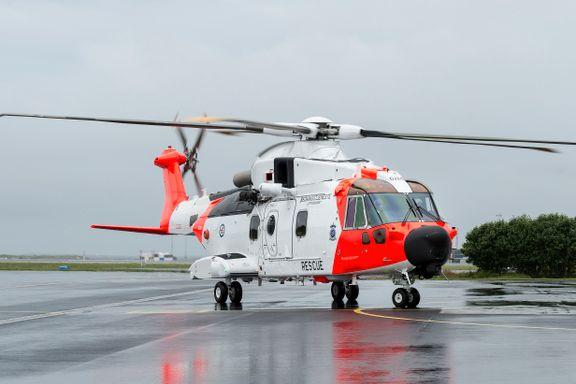 Problemer tårner seg opp for Norges nye redningshelikoptre