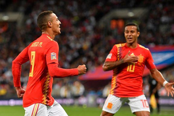 DIREKTE: Spania med snuoperasjon - slo England