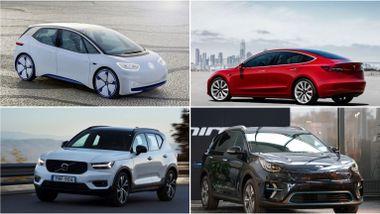 Elbilene ekspertene ser frem til: – Proppfulle av ny, fremtidsrettet og revolusjonerende teknologi