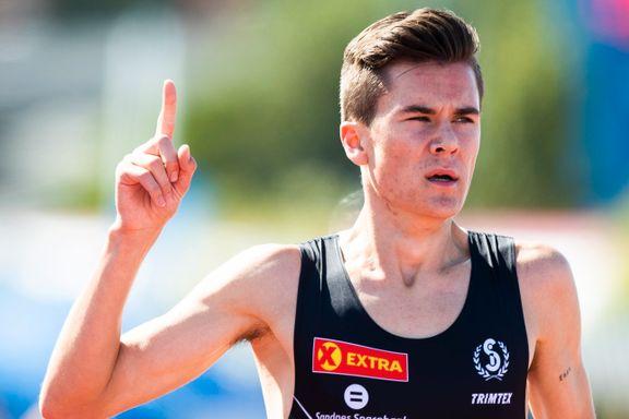 Jakob Ingebrigtsen lekende lett til finale: – Det var rett før jeg begynte å gå
