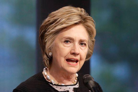 Clinton langer ut mot Assange