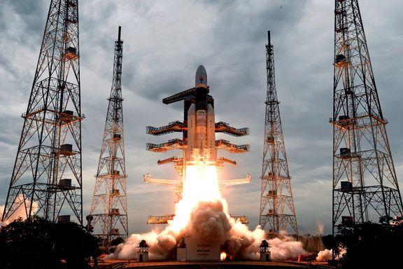 India har satt kurs for Månen