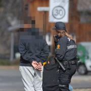 Fire unge gutter pågrepet etter væpnet ran i Asker