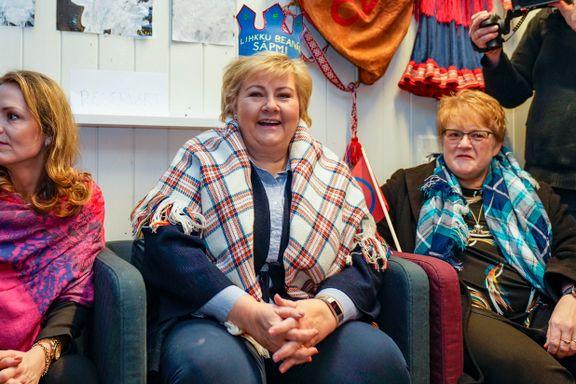 Erna Solberg feiret samenes nasjonaldag - på Tøyen