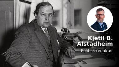 For 75 år siden advarte C.J. Hambro mot det Stortinget nå gjør