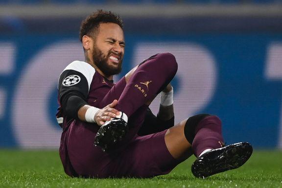 Lårskade for Neymar – ute i flere uker