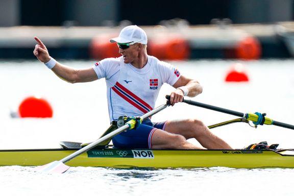 Borch koblet hodet fra kroppen i OL-debuten