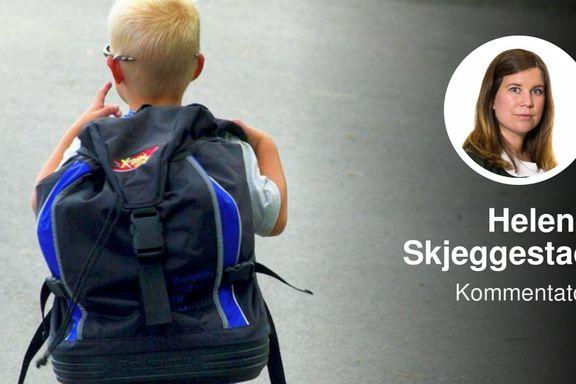 Nok er nok. På tide å teste ut senere skolestart for gutter. | Helene Skjeggestad