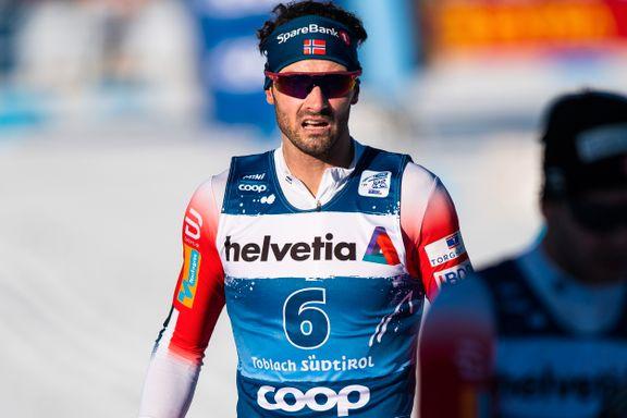 Kommentatorene trodde Holund brøt etter sykdom. Det viste seg å være en helt annen grunn.
