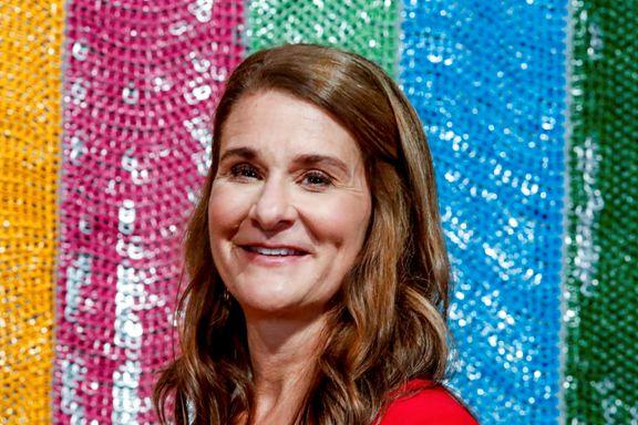 Melinda Gates om hvorfor #metoo er oppmuntrende, Erna Solberg er inspirerende og Trump er skuffende