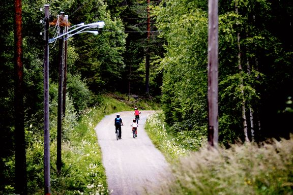 Nå lanseres ti bud for syklister i Marka