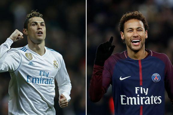 DIREKTE: Følg gigantoppgjøret Real Madrid-PSG