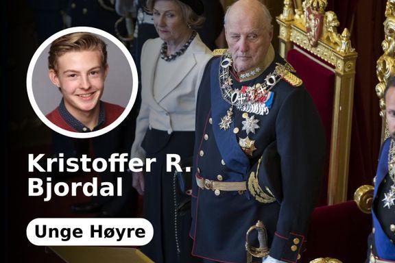 Vi må se til Sverige. Vi trenger en folkeavstemning om kongehuset.