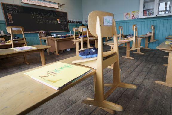 Skoler over hele landet rammes av streik: Streikeviljen større enn på mange år