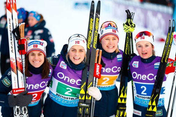 Norge knuste konkurrentene da svenskene kollapset