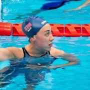 «Dømt» til å svømme mot tøffere konkurrenter - endte uten medalje