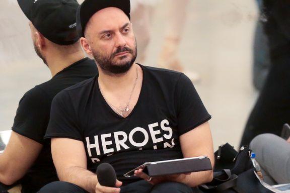 Kulturministeren fikk vodkaen i vrangstrupen på grunn av balletten med den homofile danseren. Nå er regissøren arrestert.