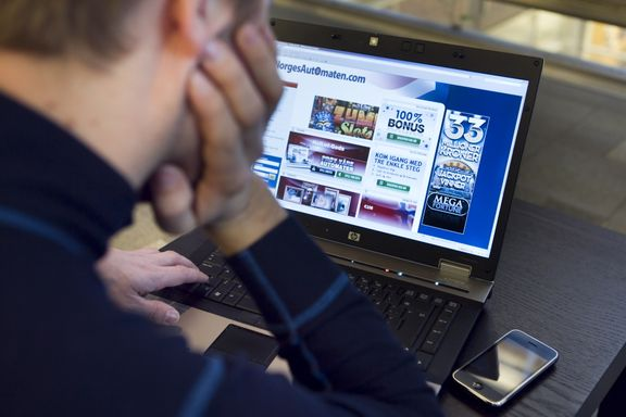 Aftenposten mener: Trist rekord i pengespill