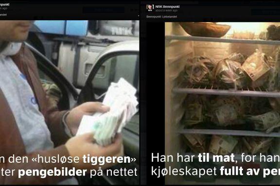 Bilder i NRKs tiggerdokumentar er flere år gamle og er neppe tatt av rumenerne
