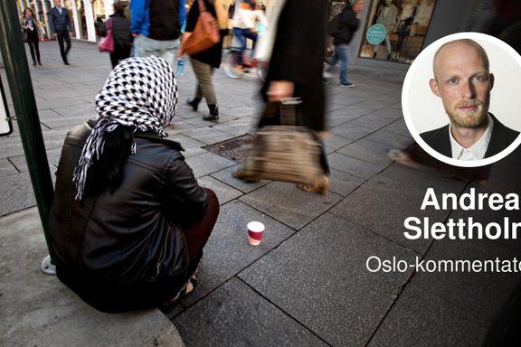 «Forbudsdebatten går på tomgang. Jeg har en løsning på tiggerproblemet.» | Andreas Slettholm