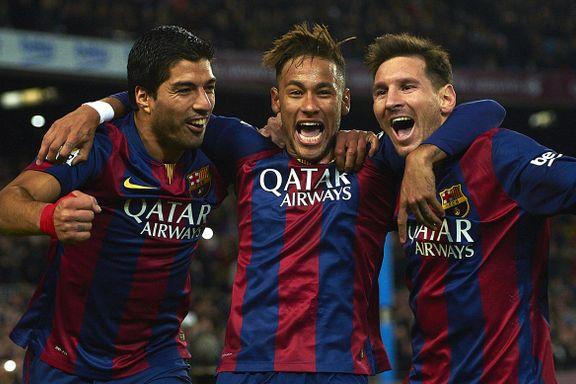 Mens TV-kanalene krangler om prisen, får norske nettaviser vise Messi og Suárez gratis