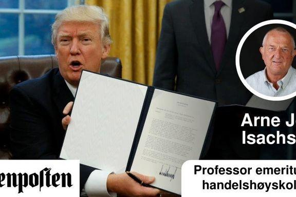 Nullsumpresidenten Donald Trump | Arne Jon Isachsen