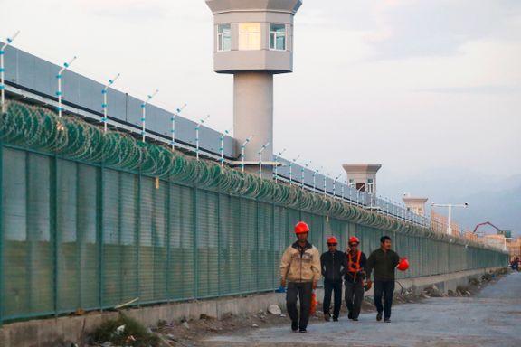 I arbeidsleirer som dette har Kina plassert én million mennesker. Nå skal landet sitte i FNs menneskerettighetsråd.
