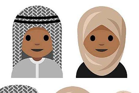 Tenåring foreslår hijab-emojier