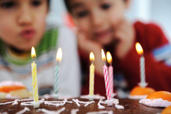 Den «ultimate» bursdagsmenyen: Barnebursdag uten gluten, laktose og kjøtt.