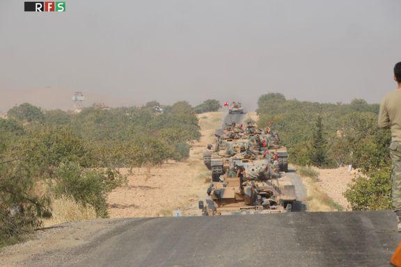 Tyrkia bombarderer kurdisk milits i Nord-Syria